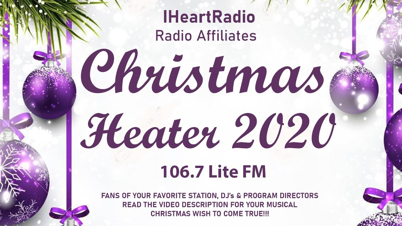 Christmas Music On 106.7, 2020 Lite FM 106.7 Christmas Delilah Victor Cubby Christine Helen Rich