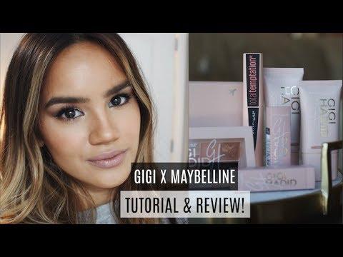 GIGI HADID MAYBELLINE REVIEW + DEMO | Dacey Cash