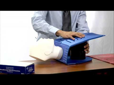 CPR Mannequin Sanitizing HD