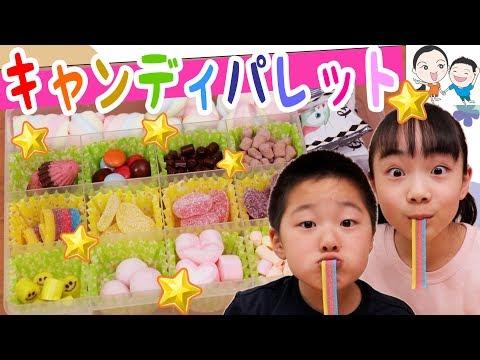カワイイ💕キャンディパレットがおいしくて楽しすぎた★ ベイビーチャンネル