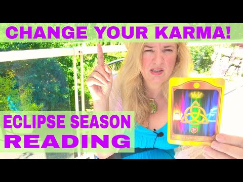 Channeled karma from the sun & moon for each sign! July 13/27, Aug 11 Eclipses (TIME STAMPS!!)