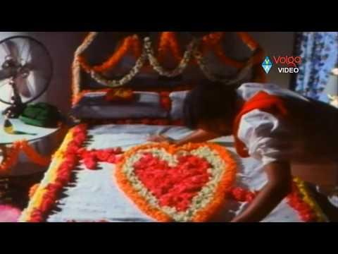 Pekata Papa Rao Scenes - Papa Rao First Night Scene  - Rajendraprasad, Khusbhu