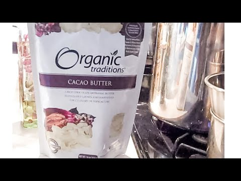Cacao Butter - What To Do With It