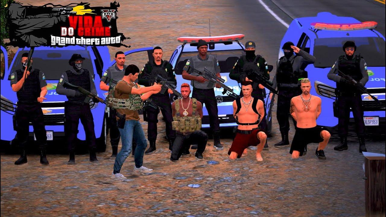 Download GTA V VIDA DO CRIME:POLÍCIAS NÃO QUER ACEITAR PROPINA QUEREM ALGO IMPOSSÍVEL DE NEGOCIAR Ep75