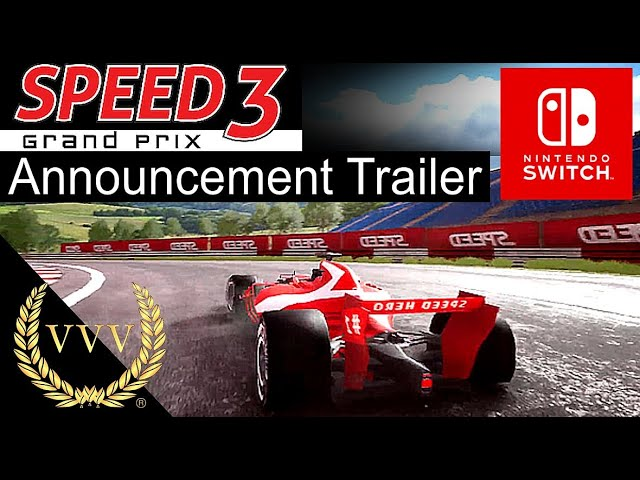 Speed 3 Grand Prix - Announcement Trailer - Switch