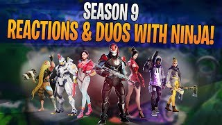 Welcome Season 9! Reactions & Duos with Ninja!