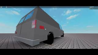 my car showing Roblox GMC Vandura 1983