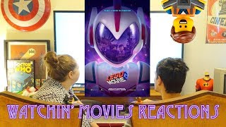 The LEGO Movie 2: The Second Part – Official Trailer #2- Trailer Reaction: Watchin' Movies