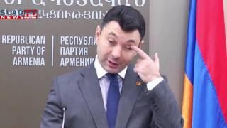 Slaq am Շարմազանով  ՀՀԿ համագումարին կուսակցության նախագահի մեկ թեկնածու է գրանցված