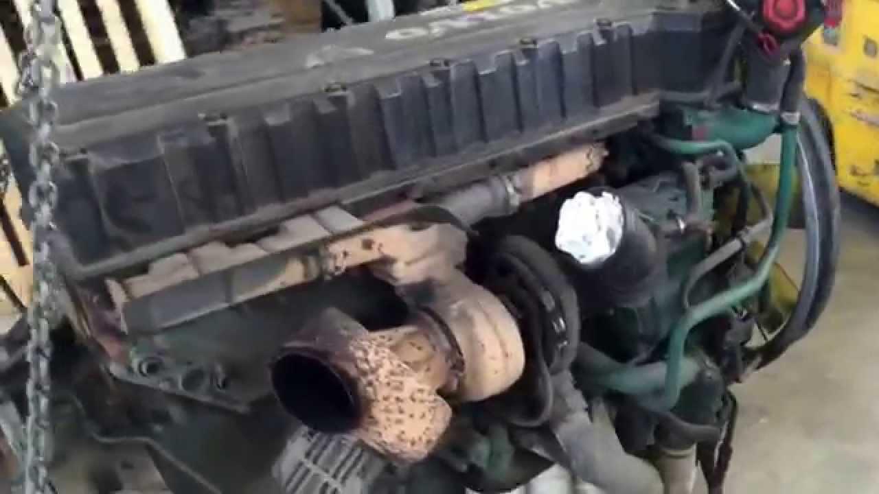 где термостат вольво двигатель д12