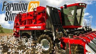 FARMING SIMULATOR 20 - BAUMWOLLE ernten - gibt das Geld? | Landwirtschafts-Simulator 20 Gameplay