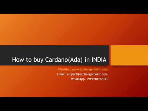 How to Buy CardanoAda with PayTM India or Bank Transfer