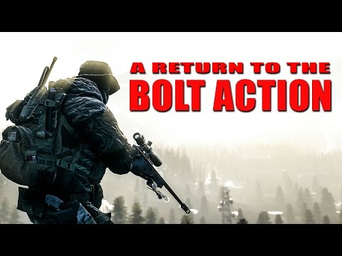 Return to the Bolt Action - L115 Naked Carnage! - Battlefield 4