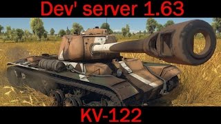 war thunder kv 122 dev server 1 63
