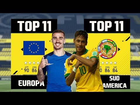 Team EUROPA VS Team SUD AMERICA. Partite Epiche