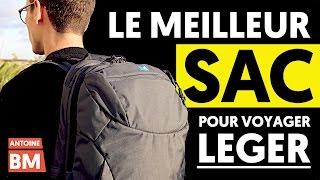 LE MEILLEUR SAC À DOS POUR VOYAGER LÉGER (Minaal Carry-on 2.0)