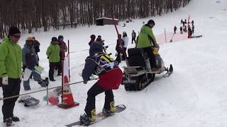 H30.1.28 塩沢スキー場 塩沢スロープスタイル メンズ 1位斎藤弘信 2位鈴...