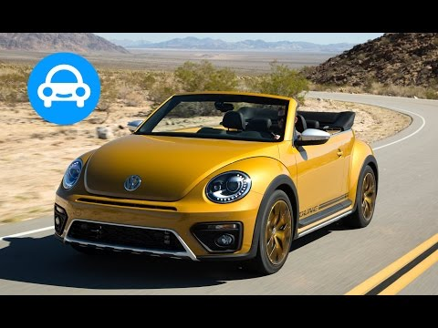2017 Volkswagen Beetle Dune Convertible Review