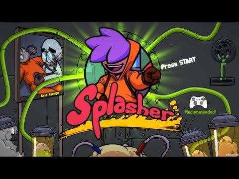 Splasher Game Play Walkthrough / Playthrough |