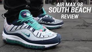 AIR MAX 98 SOUTH BEACH REVIEW - YouTube