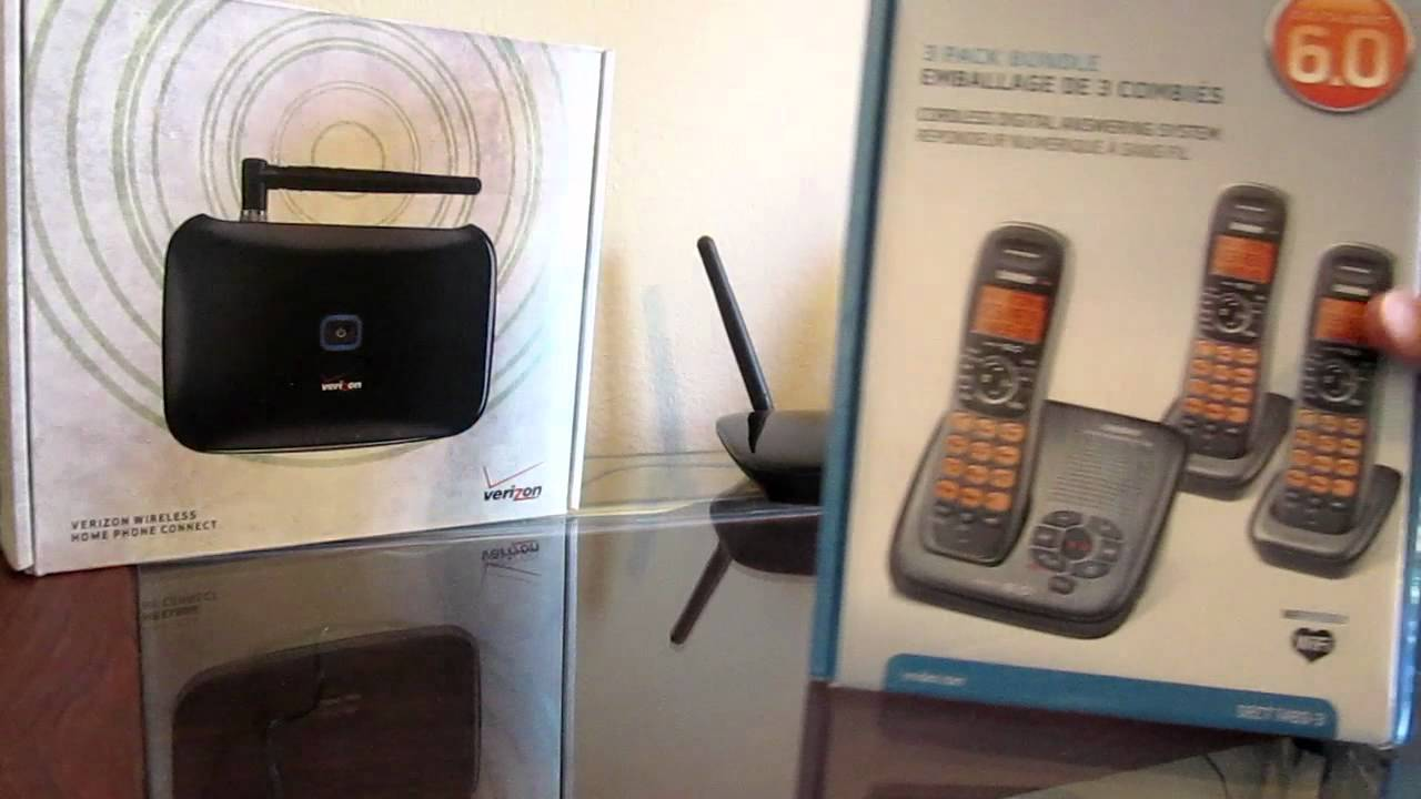 Verizon Home Phone hook up
