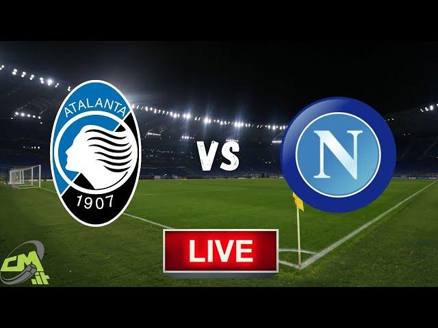 🔴Atalanta-Napoli LIVE! Cronaca in DIRETTA e commento | Coppa Italia [NO Streaming]