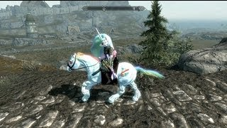 Skyrim Mods: You spilled your rainbow on my game