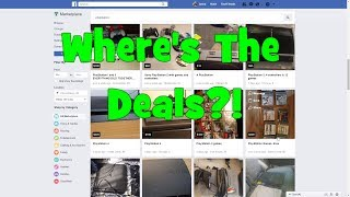 Finding Game Deals Online #1: Hunting For Playstation Stuff on Facebook Marketplace