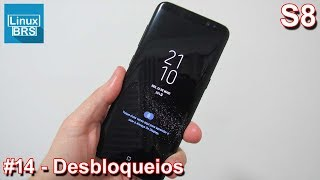 Samsung Galaxy S8 - Desbloqueio: Digital, íris e rosto