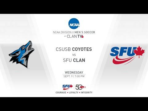 SFU Clan Men's Soccer: SFU vs. CSUSB - September 9, 2015