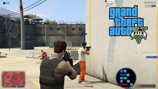 [Hindi] GRAND THEFT AUTO V | THE PRISON BRAKE HEIST#13