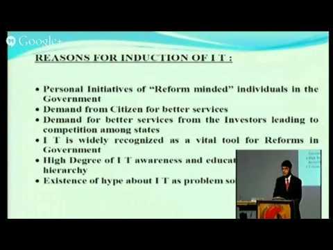 E Governance in Rural Development By Prof Manoj Kumar