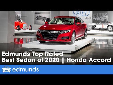 2020 Honda Accord: The Best Sedan | Edmunds Top Rated 2020