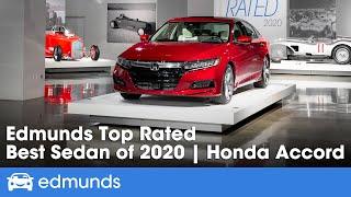 2020 Honda Accord: The Best Sedan   Edmunds Top Rated 2020