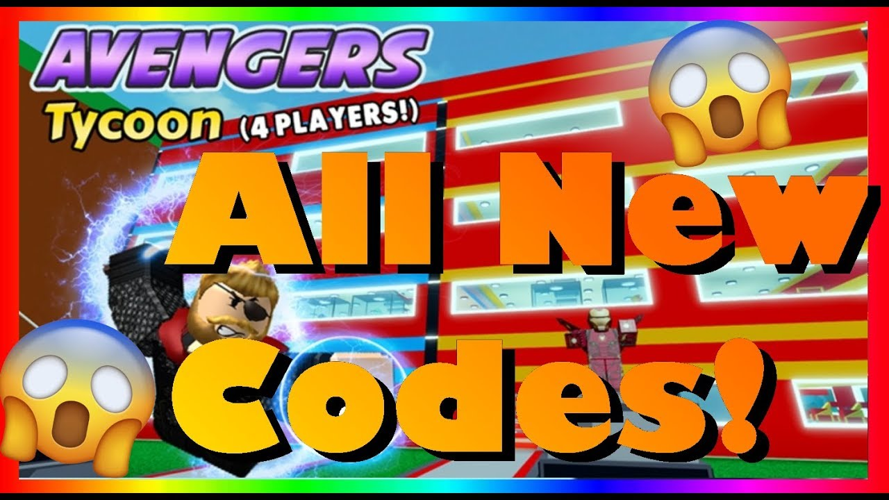 Roblox 4 Player Superhero Tycoon Codes July 2020