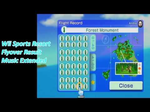 Wii Sports Resort Flyover Result   Extended Music