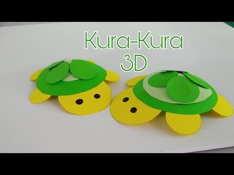 DIY KURA-KURA ORIGAMI 3D | EASY ORIGAMI TURTLE IDEAS