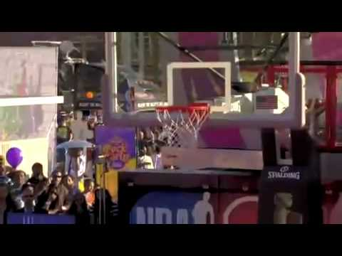 NBA All-Star Weekend 2009: Playing H.O.R.S.E (Kevin Durant, O.J Mayo, Joe Johnson) HQ