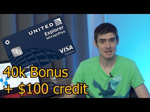 NEW United Credit Card! 40k Bonus, Extra Bonus Catagories