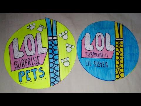 ABRIENDO L.O.L. PETS Y L.O.L. LIL SISTER CASERA!! | L.A.D.