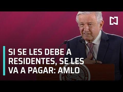 AMLO promete pago a médicos residentes - Por Las Mañanas
