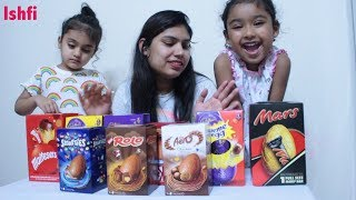 Easter Eggs Unboxing by Rufi Ishfi