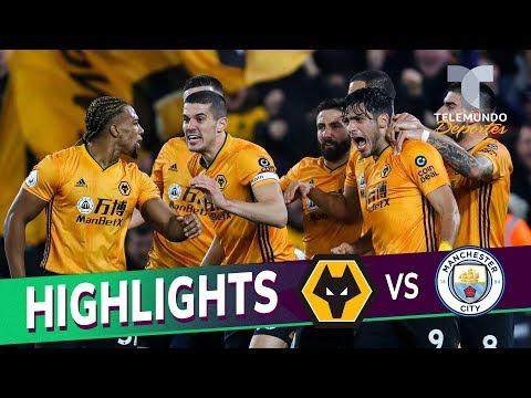 Wolverhampton vs. Manchester City: 3-2 Goals & Highlights   Premier League   Telemundo Deportes