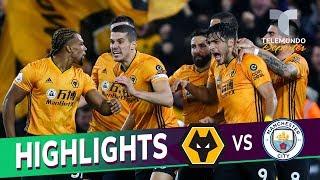 Wolverhampton vs. Manchester City: 3-2 Goals & Highlights | Premier League | Telemundo Deportes
