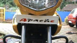 K & N FILTER ON APPACHE RTR 160