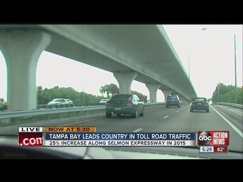 We hate tolls, but Tampa Bay area drivers pay them more than ever