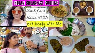 Indian BREAKFAST Routine Work From Home Mom Morning Vlog SuperPrincessjo
