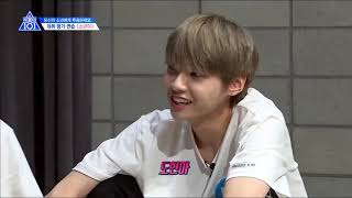 """Group """"Boyness"""" Discussion (Cut) - Produce X 101 Ep. 12 [Eng Sub]"""