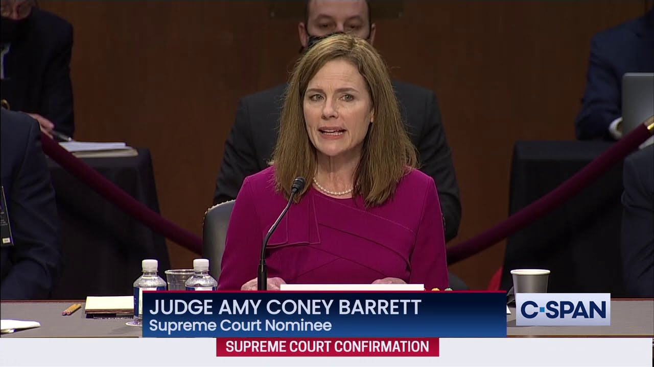 Judge Amy Coney Barrett Full Opening Statement at Supreme Court Confirmation Hearing