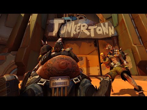Roadhog And Junkrat Give A Tour Of Junkertown | Overwatch Cribs